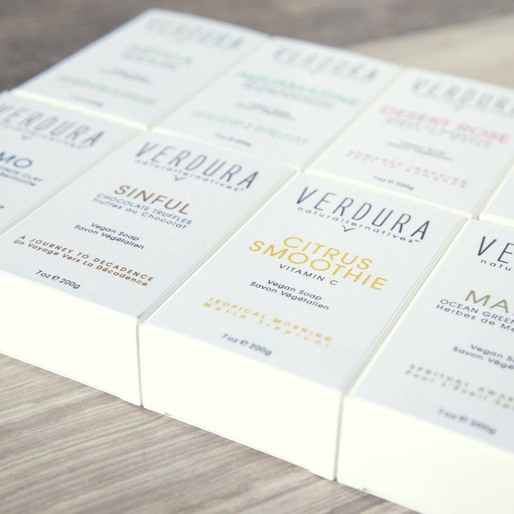 Vegan Soap Collection by VERDURA naturalternatives