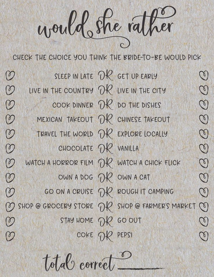 What To Do At A Bridal Shower 5 Sure