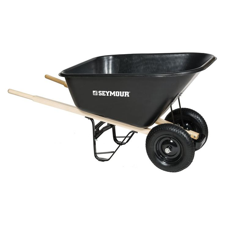 Seymour 10 Cubic Ft Wheelbarrow