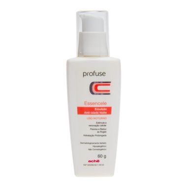 Profuse Essencele Noite estimula a renovação celular, previne e reduz as rugas. Proporciona hidratação prolongada para a pele. Combate os efeitos nocivos dos radicais livres.