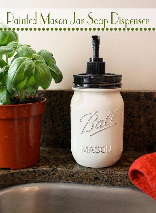Mason Jar Soap Dispenser   My Crafty Spot - When Life Gets Creative