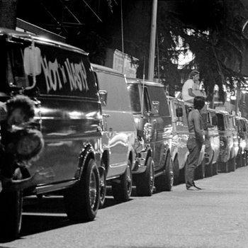 Best Custom Vans From The S Images On Pinterest Chevy Vans - Custom vinyl decals for car hoodscustom hood decals etsy