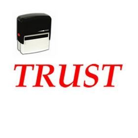 #Self-Inking #Trust #Stamp.Need finance stamps? Get the Trust Self Inking Rubber Stamp online from Acorn Sales. Stay organized and make filing hassle free with office stamps.