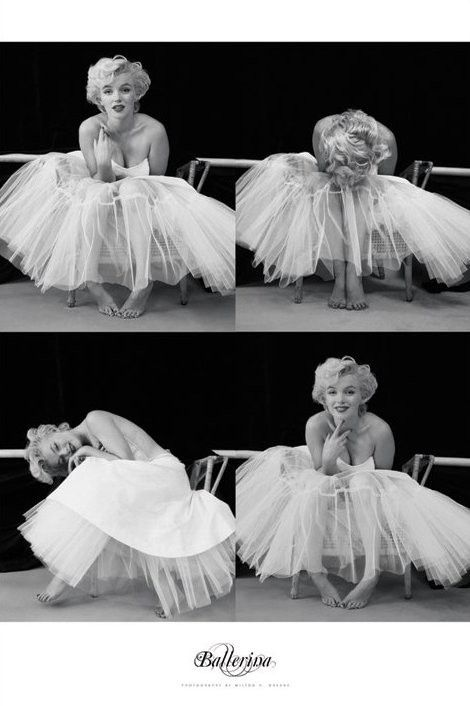 MARILYN MONROE - ballerina  - Europosters