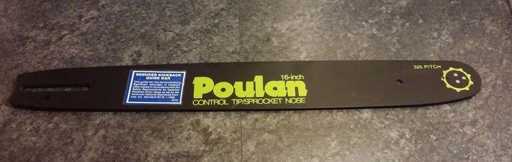"Poulan 16"" Chainsaw 325 Pitch Control Tip / Sprocket Nose 44276 16 325 NEW #Poulan"