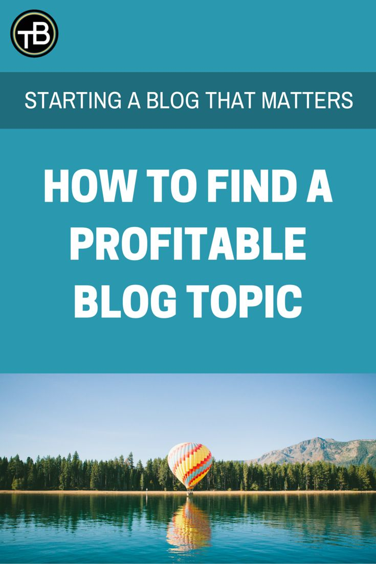 start a blog that matters, find a blog topic => http://thebecomer.com/find-profitable-blog-topic-idea/