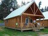 Pre-Built Log Cabins Small Log