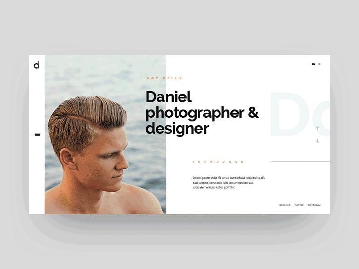 Website design from http://keithhoffart.weebly.com/contact.html UI Interactions of the week #43