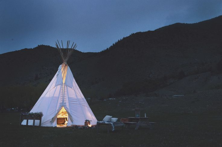 Dream catcher tipi motel  Yellowstone national park