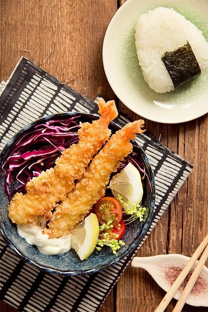 Ebi tempura by Machita Martinez