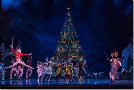 "Battle Scene from Joffrey Ballet's ""The Nutcracker,"" conceived and directed by Robert Joffrey. (photo credit: Cheryl Mann)"