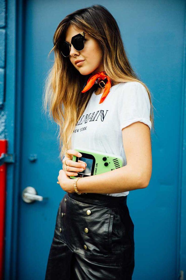 Doina Ciobanu Urania Gazelli Game Over clutch  New York Fashion Week 2016