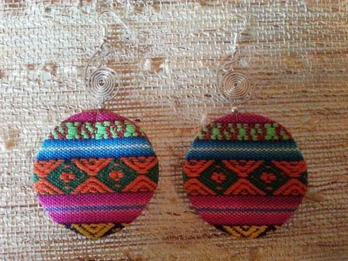 Peruvian Ethnic Lliclla Earrings | eBay