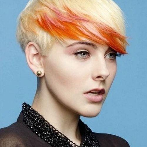 Shatush sui capelli corti? Perché no, basta osare con colori originali e audaci! L'effetto sarà affascinante e glamour.