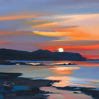 'Inner Sound Sunset' by Pam Carter (H016)
