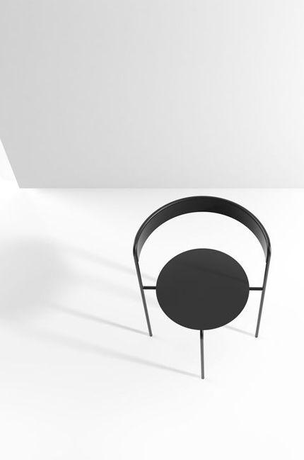 Avoa chair in black | chair . Stuhl .  chaise | Design:  Pedro Paulo-Venzon |