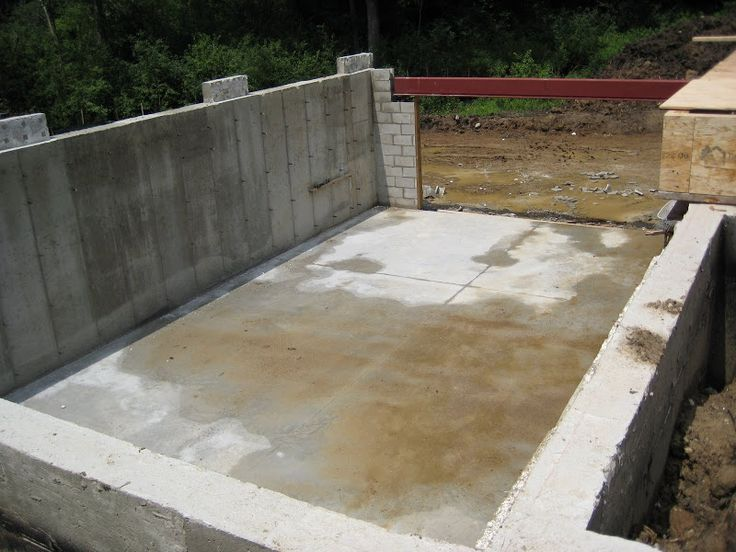 17 best images about structural concrete floor on for How to build a garage floor