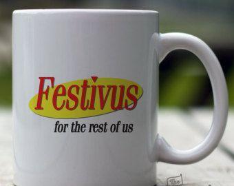 Festivus, 15oz Mug, Seinfeld Holiday Mug