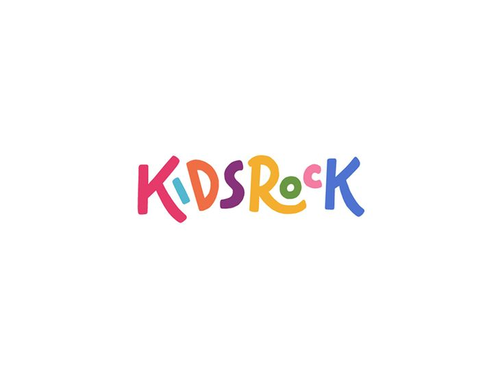 A fun, hand-drawn logo for a church's sunday school for children aged 4—11.