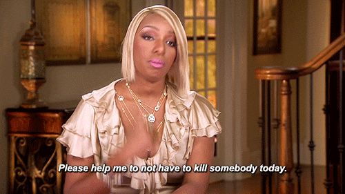 When you get to your bagel place, and they're out of everything bagels. | 21 Times The Real Housewives Said What You Were Thinking