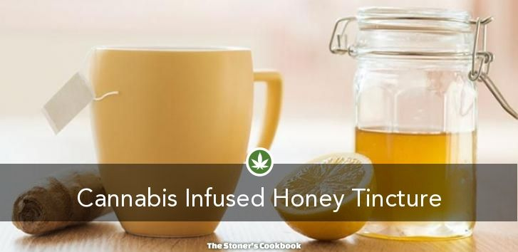 Cannabis Infused Honey Tincture from the The Stoner's Cookbook (http://www.thestonerscookbook.com/recipe/cannabis-infused-honey-tincture)