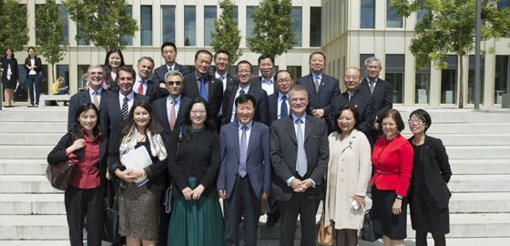30 des plus grands patrons d'entreprises privées chinoises sur le campus d'HEC Paris