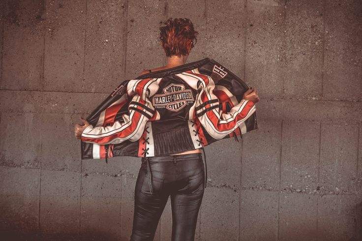 Looking For The Best Harley Leather Jackets? MotorbikeShed    #motorbikeshed