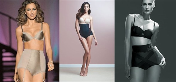 Underwear and shapes: the underwear that gives you perfect curves - Underwear manufacturers are getting ready for the curvy revolution with glamorous lingerie that shapes your curves.