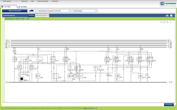 Potrzebny schemat instalacji elek.opla omegi B 95' - elektroda.pl