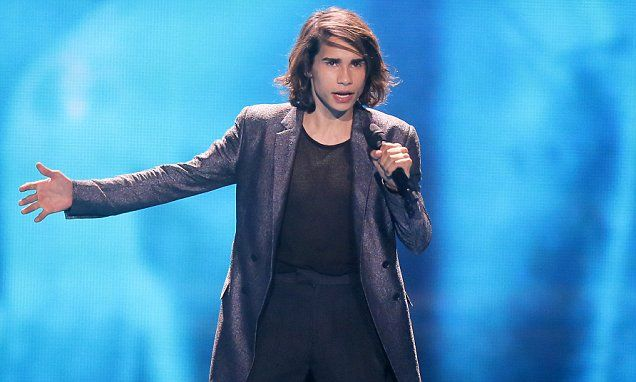 Isaiah Firebrace gives a solid performance at Eurovision
