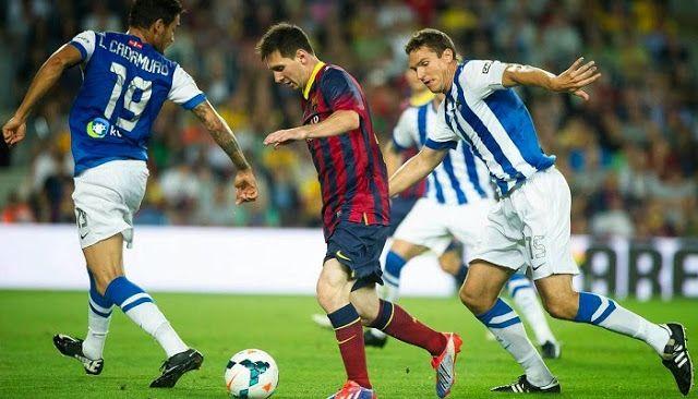Barcelona vs Real Sociedad. Mira el partido en vivo: http://www.envivofutbol.tv/2015/05/barcelona-vs-real-sociedad-en-vivo.html