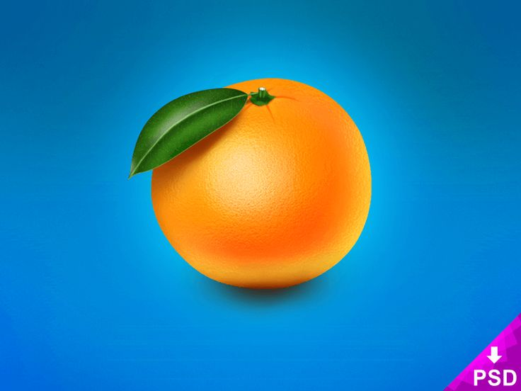 Realistic Orange Image