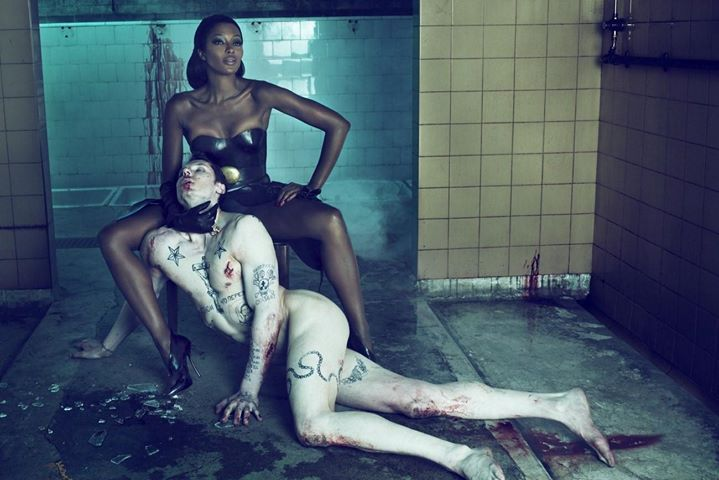 .Naomi Campbell Interview Magazine by steven klein