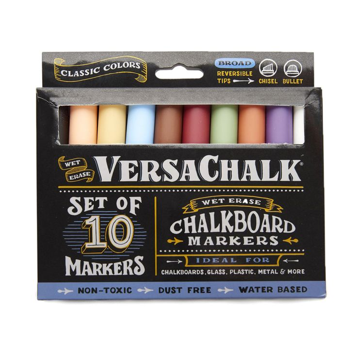 Classic Liquid Chalk Markers 10-pack