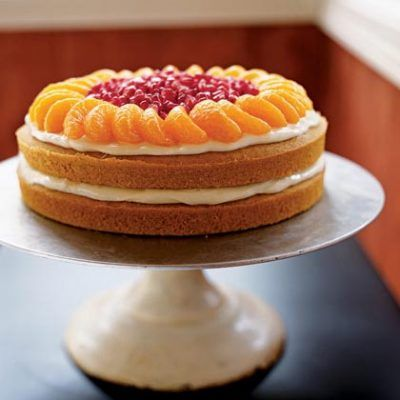 Pumpkin-Orange Cake - Healthy Pumpkin Recipes - Health.com