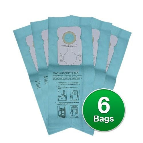 Replacement Vacuum Bag for Simplicity Upright 7700 Model - Micro Type 6 Bags/pk