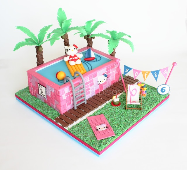 Hello Kitty Cake Https://www.facebook.com/Pirikos