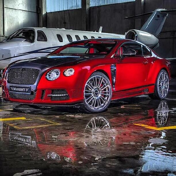 Pure Opulence! Mansory Bentley Continental GT and private jet
