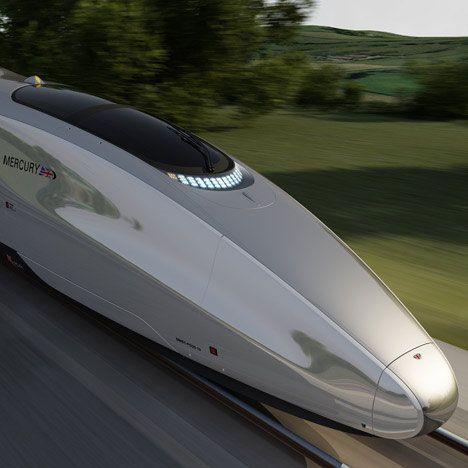 Double Decker Rail Devil: Super-Fast British Train Concept