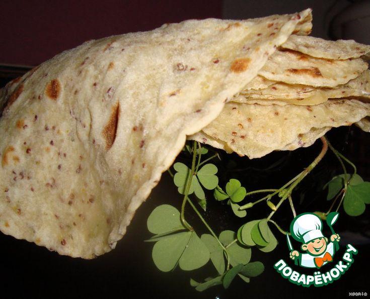 Горчичные лепешки или лже-лаваши - кулинарный рецепт