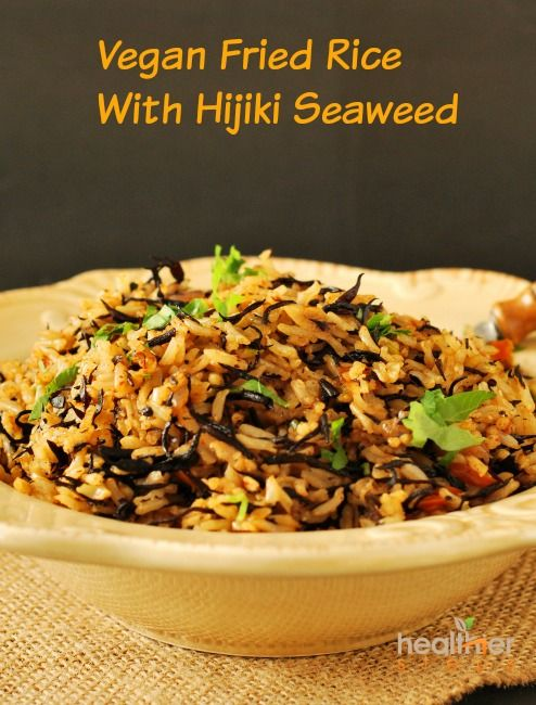 I am intrigued by foods from all over the world, so I wanted to make some vegan fried rice with hijiki seaweed. I decided to use hijiki seaweed because the taste reminds me of canned sardines and rice that I ate while growing up, and I had some packets of the dried seaweed for quite …