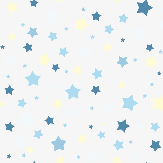 Small Fresh Decorative Background Stars Png And Vector Baby Blue Wallpaper Baby Animal Nursery Art Blue Butterfly Wallpaper