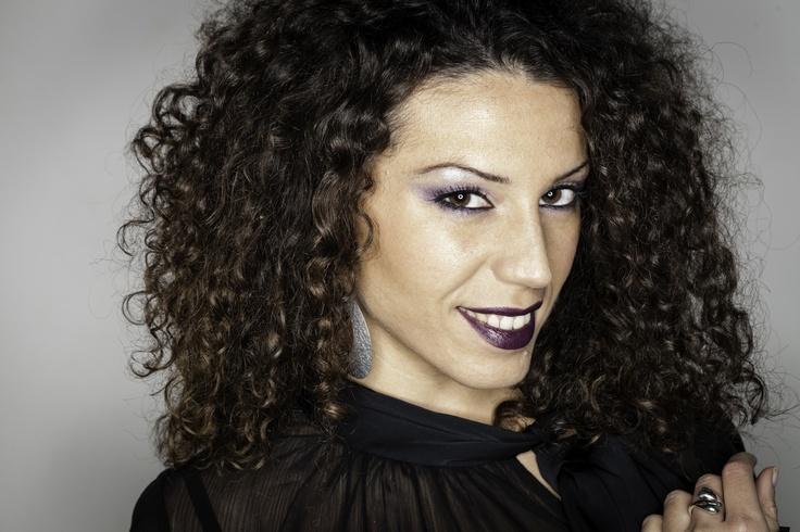 #Blackpurple #sexy #fashion #chic #mymua #mac #kiko #trucco #occhi #viola #nero #eyes