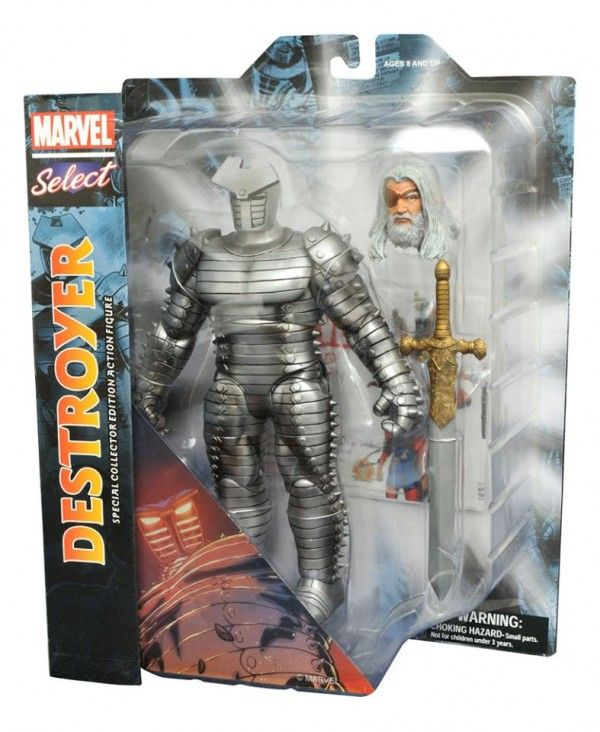 ToyzMag.com » Marvel Select Destroyer Odin – nouvelles images