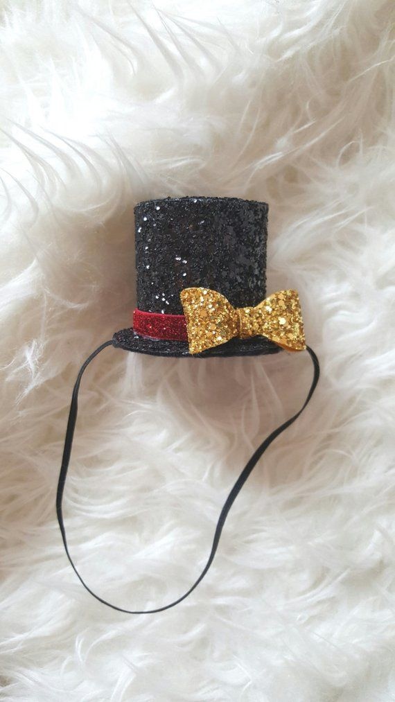 aed4e56b392c5 Mini Ringmaster hat measures approx 3 1 2 tall and approx 3 diameter  Perfect touch to the adorable romper shown here made by the shop ...