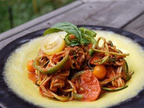 Спагетти с овощами: 5 рецептов