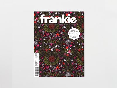 Issue 57 is BIG. And HEAVY. Big enough to include DIY designer envelopes, extra-special greeting cards, and a massive, cute and super-handy 2014 wall planner. It's also big enough to have loads of rad stories inside: grandmas who rock, life lessons from original riot grrrl Kathleen Hanna, Sierra Leone street style, ice-cream themed fashions, young pattern designers from around the world and a guide to help you not kill succulents. Enjoy! www.frankie.com.au/current-issue/issue-57