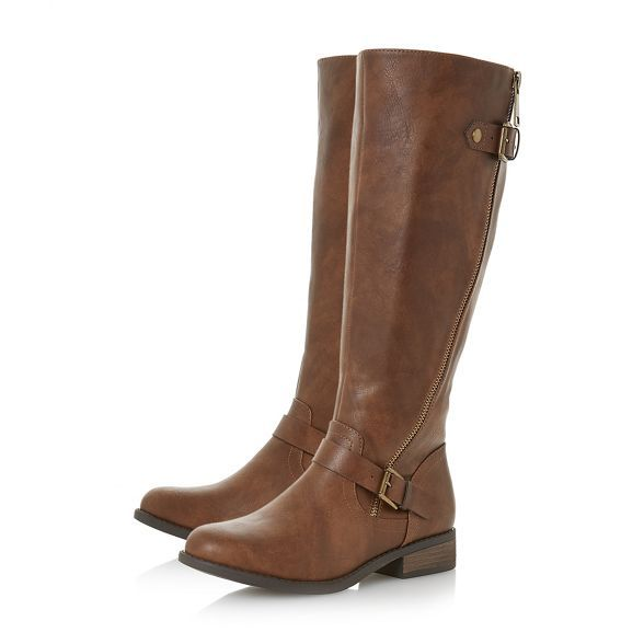 8fe3f629768 Roberto Vianni Tan  Toppy  knee high boots