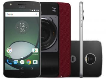 Confira no #MagazineBrasilcompleto:  Smartphone Motorola Moto Z Hasselblad True Zoom - Edition 32GB Preto e Prata Dual Chip 4G Câm. 16MP
