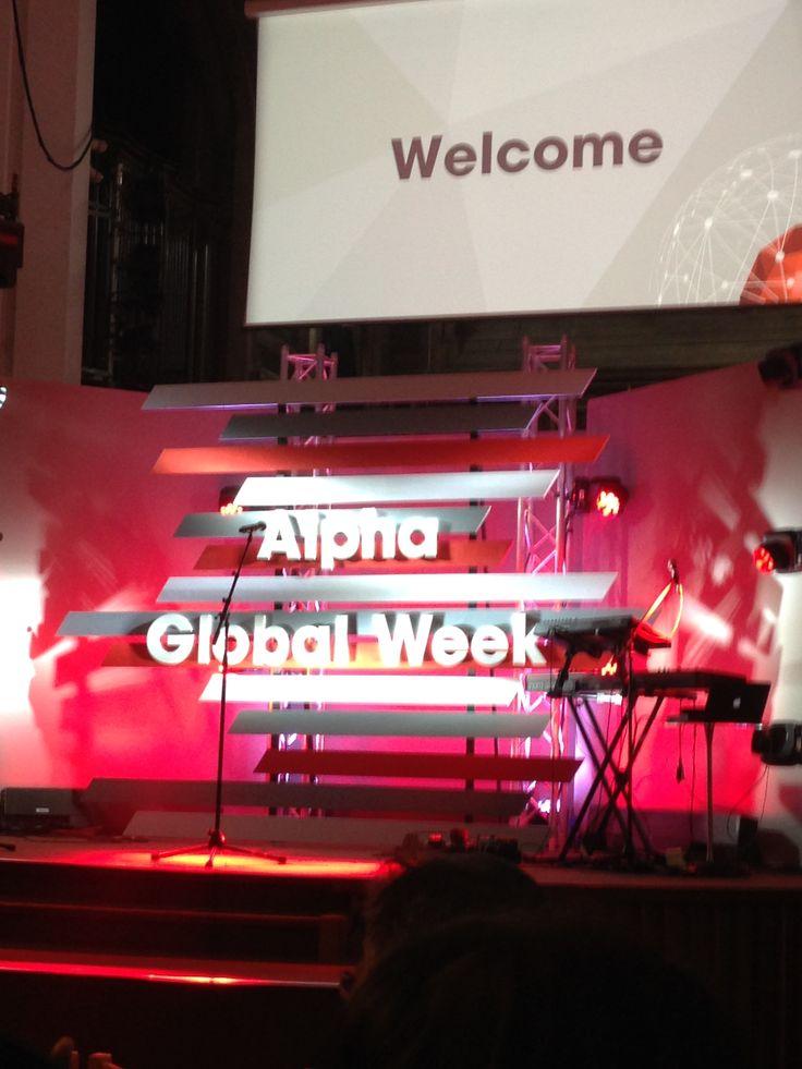 Alpha Global Week